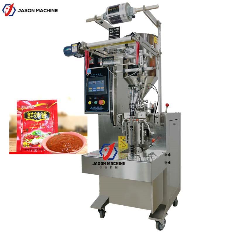 袋装汤料自动包装机 甜辣酱料包装机 麻辣鲜酱包装机