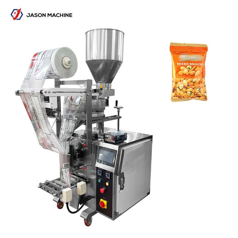 食品散装颗粒包装机小袋干果零食坚果分装机大米计量包装机器