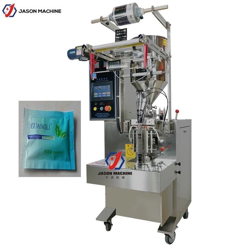 现货促销全自动柔顺剂清洁乳包装机 立式洗衣液包装机 性能稳定