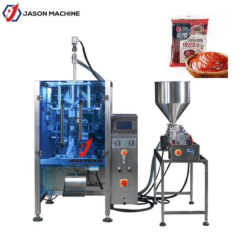 厂家定制烤鸭酱料包装机 甜面酱自动包装机械 番茄酱大袋包装机