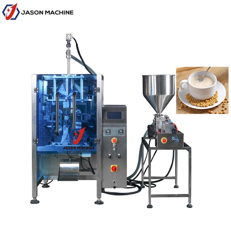 豆浆PE膜液体机 1L液体全自动包装机 豆浆饮料灌装包装机械
