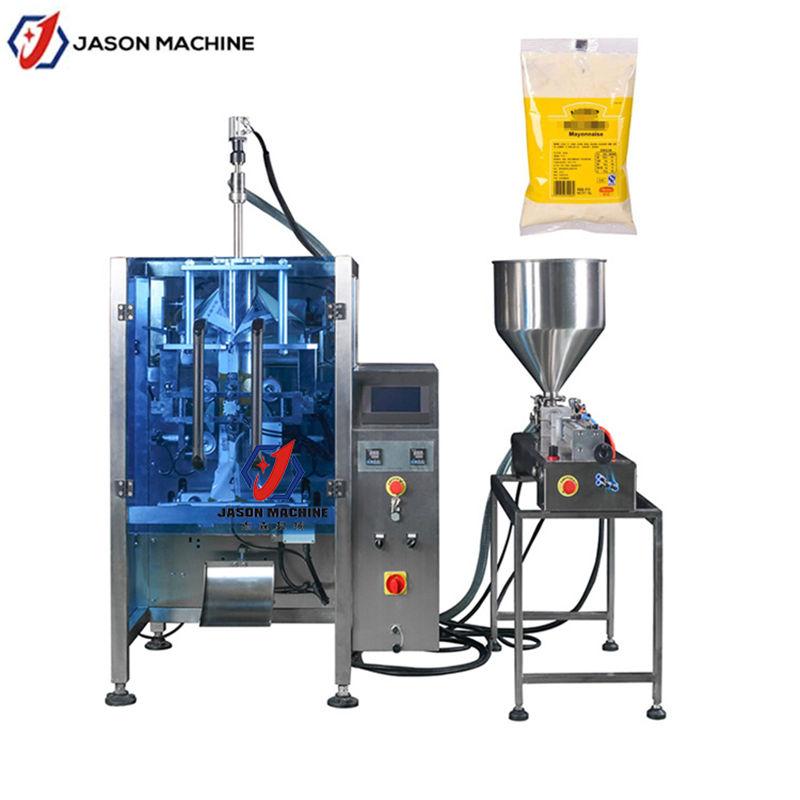 自动膏体酱料包装机 沙拉酱酱料大立式包装机 可定制尺寸包装机