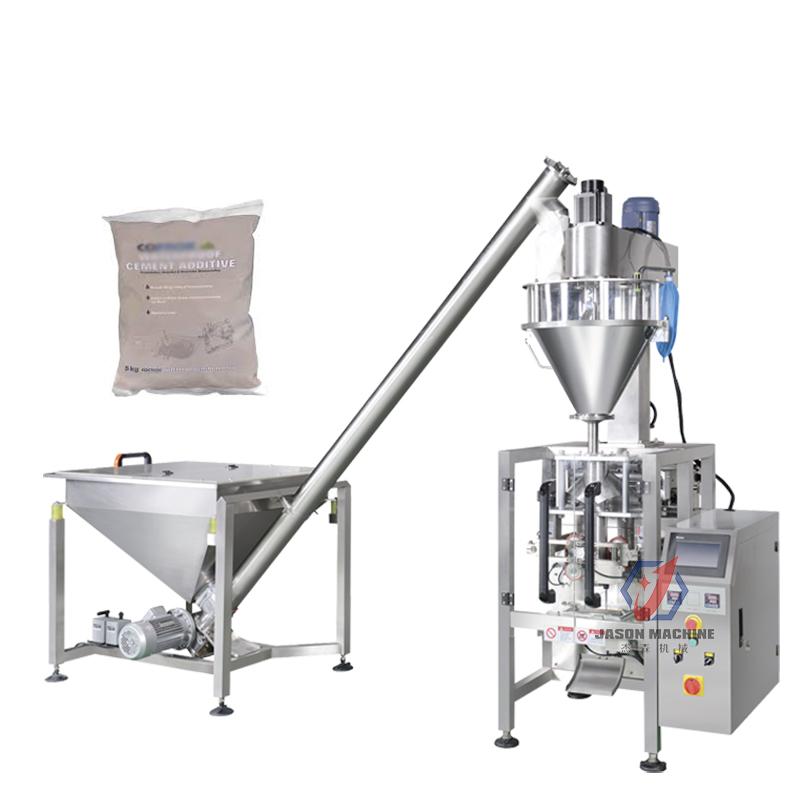 多功能立式袋装水泥粉灌装机 化工类粉末颜料粉末包装机