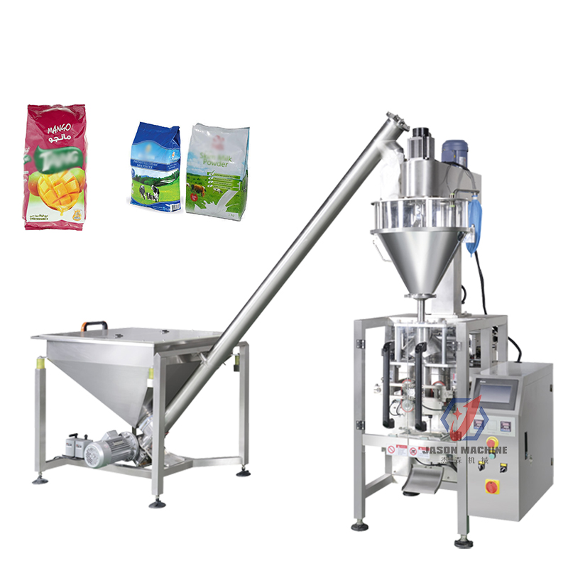 多功能立式插角袋粉末包装机 面粉奶粉特调果汁粉末包装机